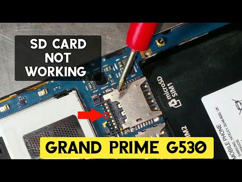 Samsung (grand prime) G-530 SD Card not working solution | ZM Lab