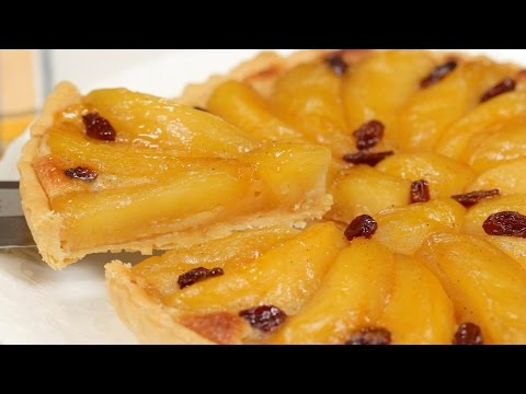 Apple Tart with Almond Cream Recipe | Cooking with Dog