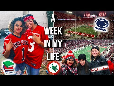 WEEK IN MY LIFE @ OHIO STATE | Football, Midterms, Parties