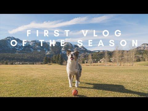 First Snowboard Vlog of the Season | Mammoth Mountain - GoPro HERO 6