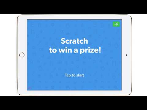 Scratch to Win Survey Template - QuickTapSurvey