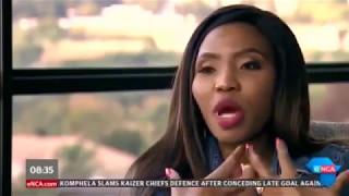 Noma Gigaba (South Africa's finance ministers wife - Gigabyte) - The Tender Interview (Full)