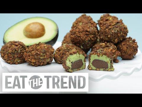 Avocado Truffles | Eat the Trend
