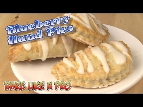 Easy Blueberry Hand Pies Recipe
