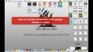 How To Export Bookmarks From Google Chrome To Safari