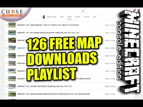 minecraft ps3 maps free download