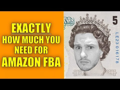 How Much Does It ACTUALLY Cost To Set Up With Amazon FBA UK? Full Break Down Of Startup Costs!!!