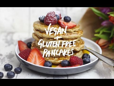 Pancake Day 2018 : Fluffy Vegan + Gluten Free Pancakes!
