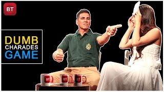 Gold Movie Starcast Akshay Kumar, Mouni Roy Played Most Intriguing Action-Packed Dumb Charades Round
