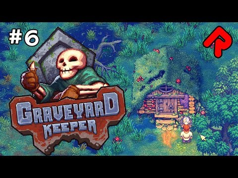 The CRAZY SWAMP WITCH!   Let's play GRAVEYARD KEEPER gameplay ep 6 (Alpha)
