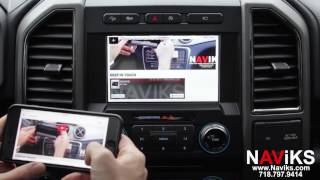 2017 Ford F 150 Raptor Naviks Video Interface Add: Smartphone Mirroring, Cameras