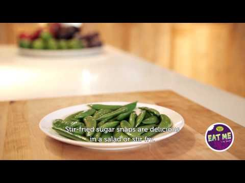 EAT ME - how to prepare sugar snaps?