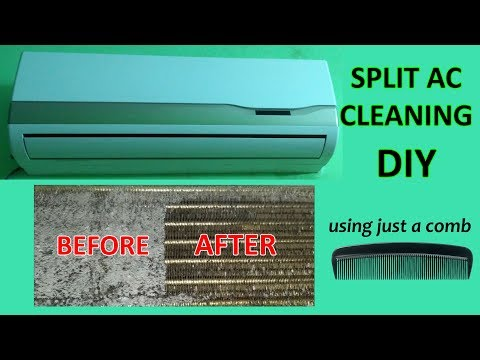 Air Conditioner Cleaning at home - DIY