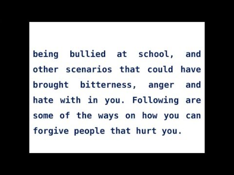 Learn To Forgive & Let Go Of Anger