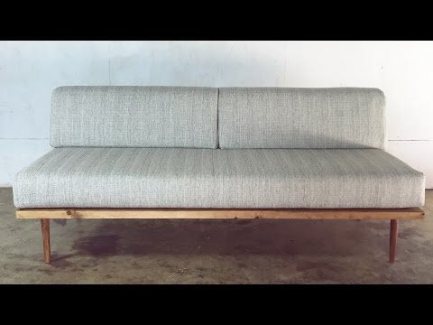 DIY Mid-Century Modern Sofa | Modern Builds | EP. 27