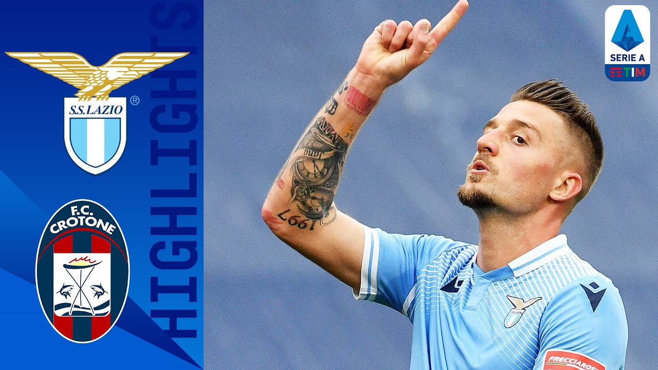 Lazio 3-2 Crotone   Caicedo Nets Another Late Winner in 5-Goal Thriller!   Serie A TIM