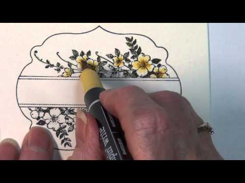 Tips of the Trade - Watercoloring on water color paper