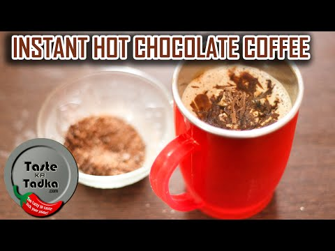 How to Make Instant Chocolate Coffee Hot!  [English Subtitles]