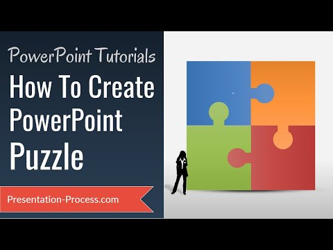 How To Create Puzzle in PowerPoint ( DIAGRAM SERIES)