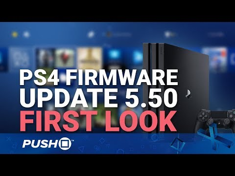 PS4 Firmware Update 5.50 First Look: What's New? | PlayStation 4