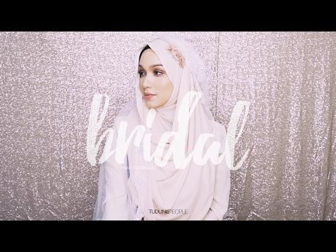 Wedding Hijab Tutorial: Flower Headband