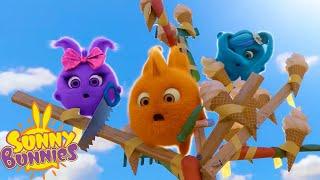 SUNNY BUNNIES - Harvesting Ice Cream   Season 3   Cartoons for Children