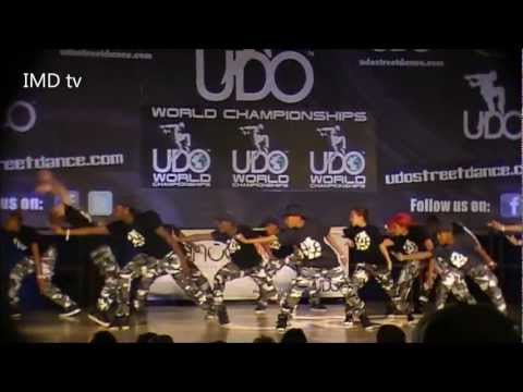 IMD dance crew at UDO World Championships in Blackpool 2012