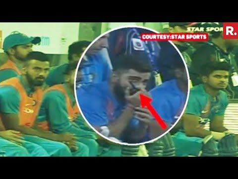 Virat Kohli Seen Talking On Walkie-Talkie During India-New Zealand Match