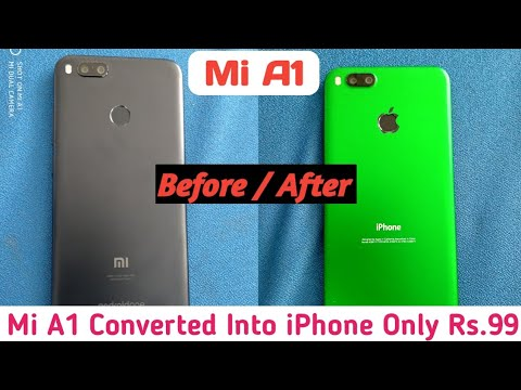 Mi A1 Converted Into iPhone Only Rs.99 | Tech 4 You |