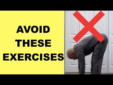 Lumbar Slipped Disc? Exercises You MUST AVOID with Herniated Discs & Sciatica