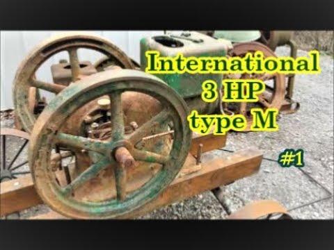 International 3 HP type M kerosene engine #1