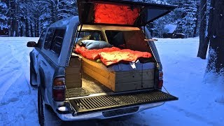 Truck Camping in Sub-Freezing Weather
