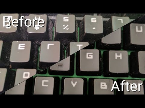 How to Clean Your Gaming Keyboard