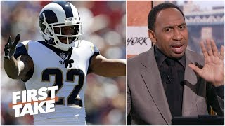 Rams DB Marcus Peters could have a rough day against the Saints - Stephen A. | First Take