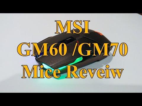 MSI Clutch GM60 & GM70 Review