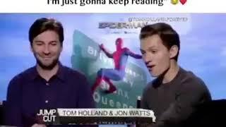 Tom Holland And Jon Watts