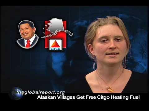 Alaskan Villages Get Free Citgo Heating Fuel