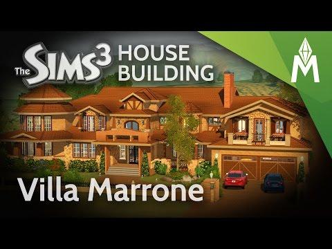 The Sims 3 House Building - Villa Marrone