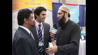 """Junaid Jamshed Expressing his Views about the effort of """"Arraheem Arraheem"""" at ISNA Convention USA"""
