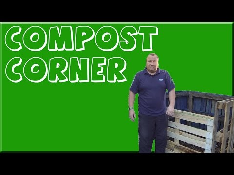 Building A Compost Container Bin From Pallets