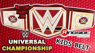WWE FIGURE INSIDER: Universal Championship - WWE Toy Wrestling Belt