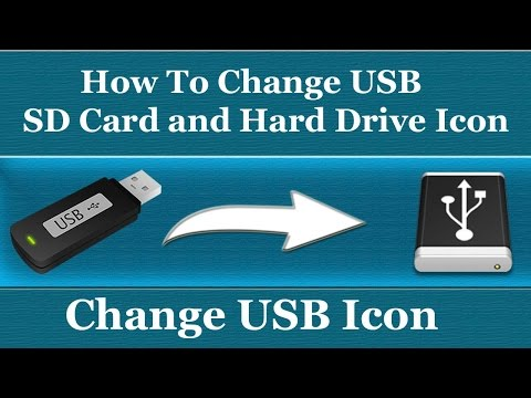 How To Change USB Flash Drive/SD Card icon - Without Any Software