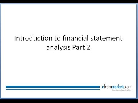 Income Statement, Balance Sheet and Cash Flow in Financial Statement Analysis