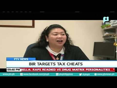BIR targets tax cheats