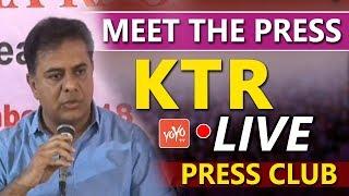 KTR LIVE | KTR Press Meet at Somajiguda Press Club | Telangana News | CM KCR | TRS | YOYO TV Channel