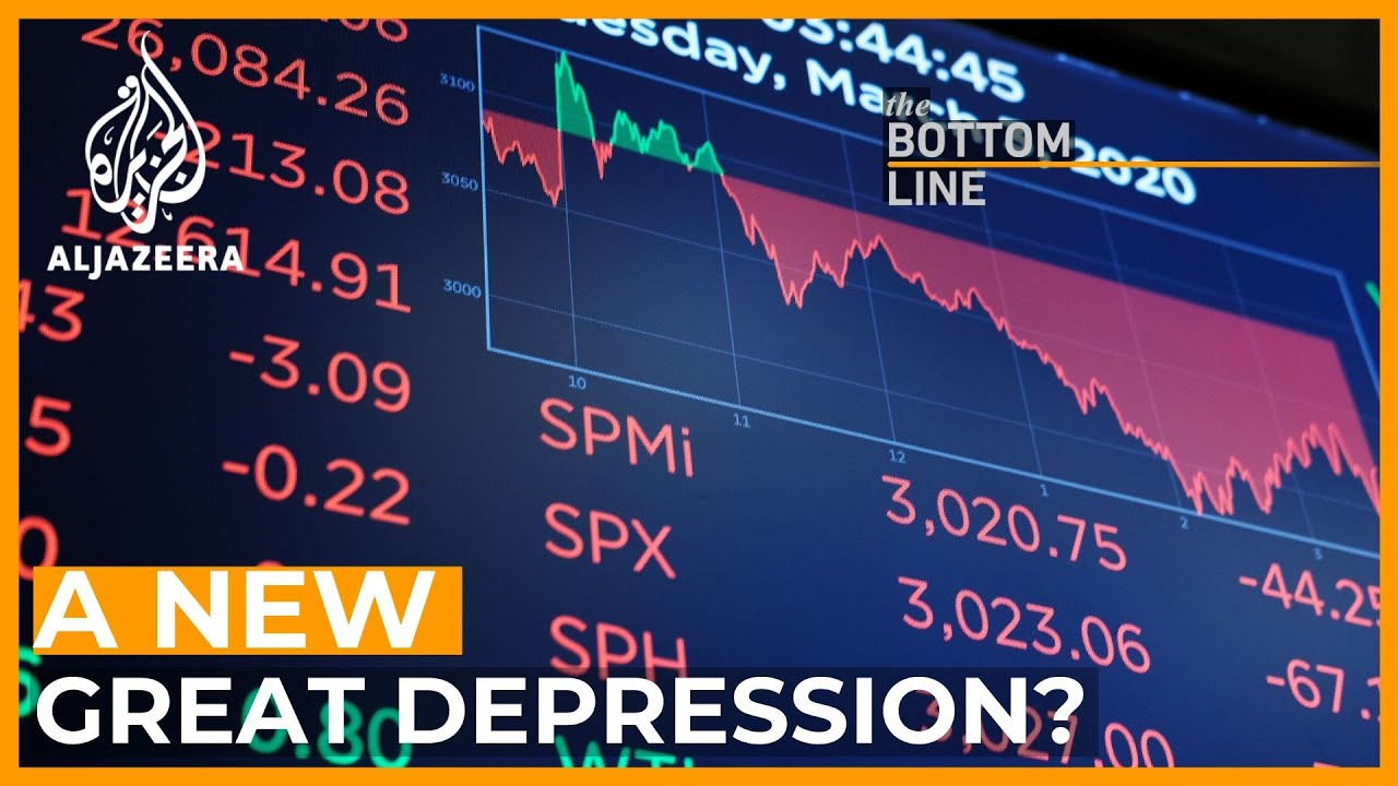 Is the world's economy heading towards a decade of depression?   The Bottom Line