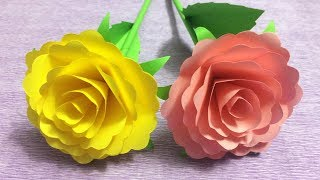 How to make small rose paper flower easy origami flowers for how to make beautiful flower with paper making paper flowers step by step diy paper flowers 2 mightylinksfo