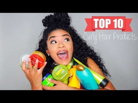 Top 10 Favorite Natural Curly Hair Products | jasmeannnn