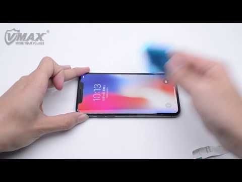 iPhone X 3D Black Hole  Version Tempered Glass/Vmax