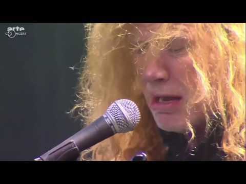 Megadeth 2016 live